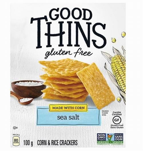 GOOD THINS 玉米海盐脆片 2.47加元 ,原价 3.49加元