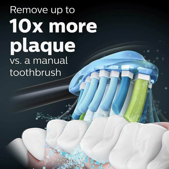 历史新低!Philips 飞利浦 Sonicare HX9361/69 智能电动牙刷2件套6.7折 269.99加元包邮!美国Costco同款促销219.99美元!