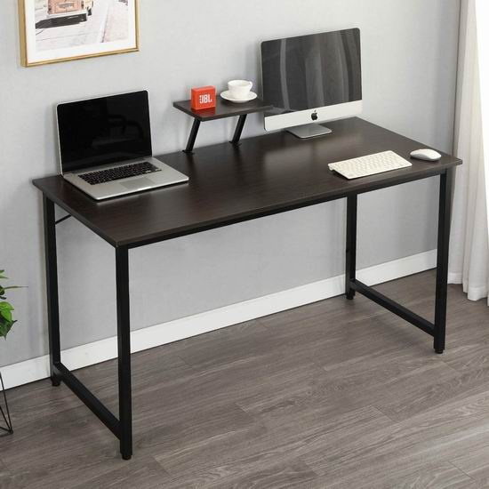 历史新低!DlandHome 47英寸 时尚电脑桌/书桌6折 59加元限量特卖并包邮!