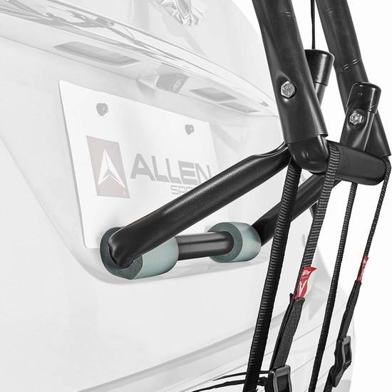 手慢无!Allen Sports 豪华后备箱自行车车架(可装3辆)6.5折 85.04加元包邮!