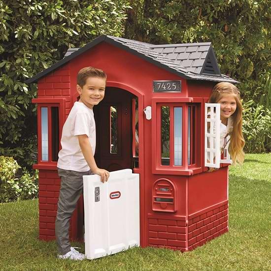 历史新低!Little Tikes 小泰克 Cape Cottage 儿童玩具生活小屋4.8折 145.03加元包邮!