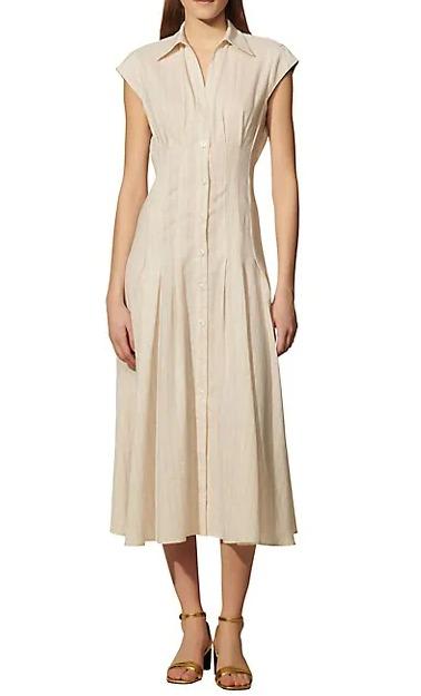 Sandro、Maje 初夏连衣裙、V领针织开衫 4折起,不为风格设限,自在切换优雅姿态