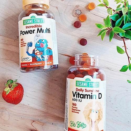 Webber Naturals × 芝麻街联名款 儿童鱼油、维生素软糖 12.97加元起