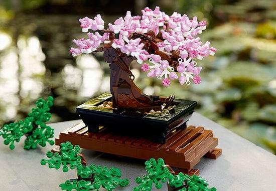 补货!Lego 乐高 10281 创意专家系列 盆景树(878pcs)69.99加元包邮!送乐高超级赛车!