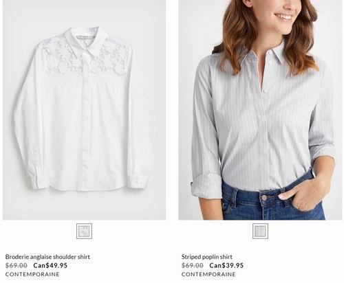 白菜价!Simons精选春季小清新T恤、卫衣、轻薄毛衣 、开衫 、裤装 3.4折 9.99加元起