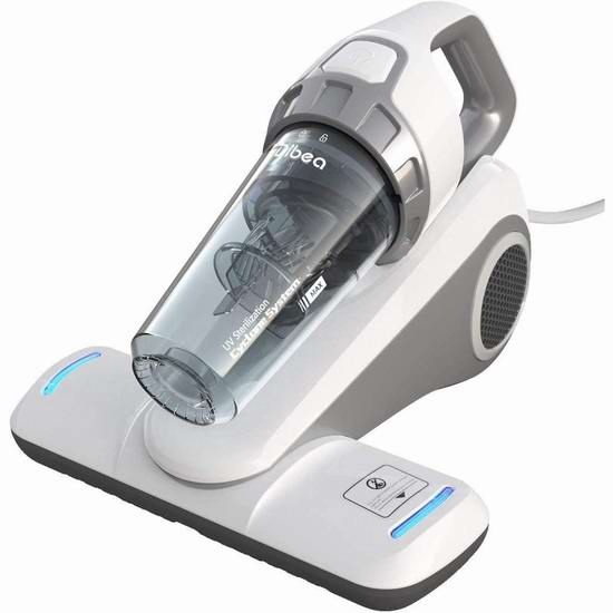 Dibea UV-10 紫外线杀菌 HEPA过滤 除尘螨 手持式吸尘器7.1折 99.99加元限量特卖并包邮!