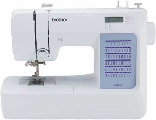 近史低价!Brother CS5055 微电脑电动缝纫机 217.52加元包邮!