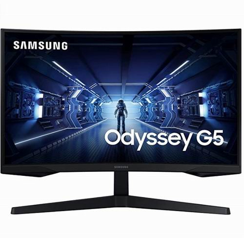 Samsung 三星 27英寸 LC27G55TQWNXZA  144HZ 1MS 护眼HDR10 曲面显示器 7.5折 338加元