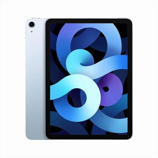 历史新低!第四代 Apple iPad Air 10.9英寸平板电脑(64GB/256GB)729.99-929.99加元包邮!5色可选!