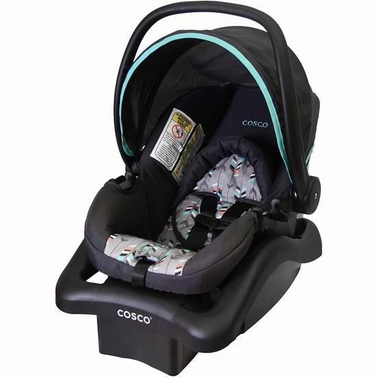 罕见好价!历史新低!Cosco Light N Comfy 超轻婴儿提篮5.4折 70加元包邮!