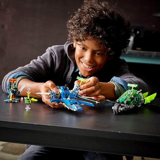 历史新低!LEGO 乐高 71709 幻影忍者 杰和劳埃德的极速赛车(322pcs)7.3折 29加元!