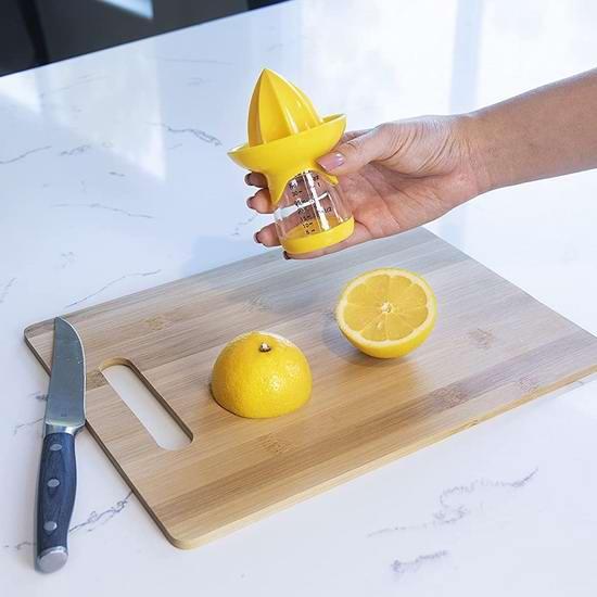 历史新低!Joie 柠檬榨汁/压汁器4.5折 4.99加元!