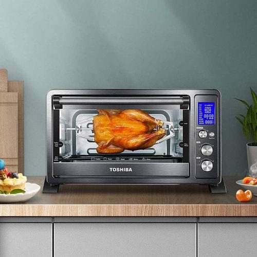 历史最低价!Toshiba 东芝 AC25CEW-BS 对流数字烤箱 7折 99.87加元,原价 142.21加元,包邮
