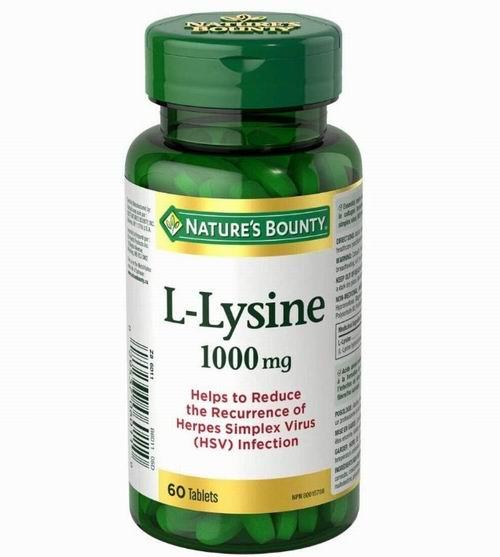 Nature's Bounty  L-赖氨酸 60粒  8.52加元,促进生长发育、增加食欲
