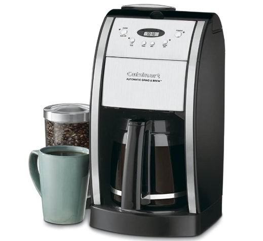 CUISINART Conair DGB-550BK 12杯自动研磨咖啡机 7.7折 138.19加元,原价 179.99加元,包邮
