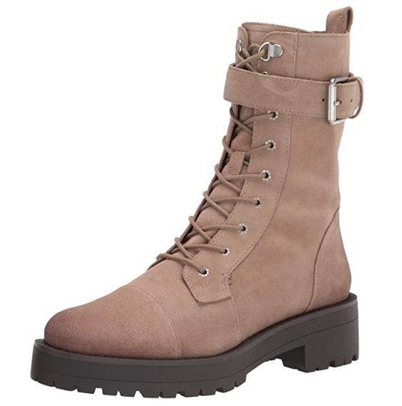 白菜价!Sam Edelman Junip 女士战靴 29.23加元(8码),原价 140.43加元