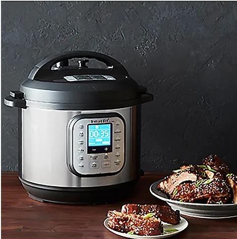 Instant Pot 6夸脱 Duo Nova 多功能电压力锅 89.96加元,原价 159.99加元