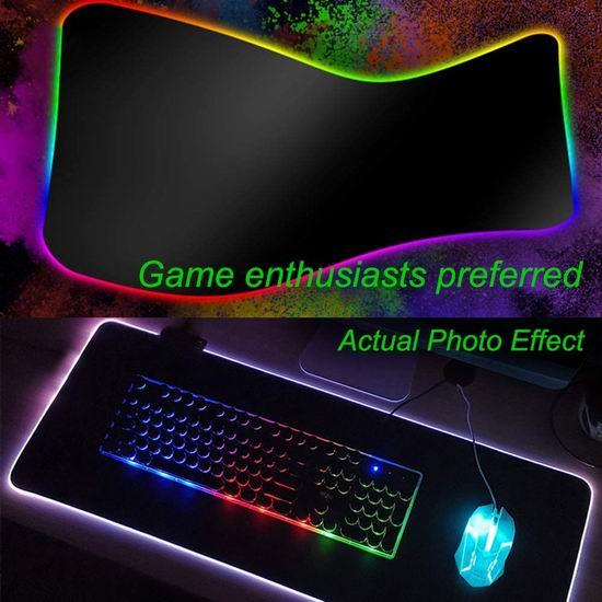 SogesPower 60英寸 时尚办公桌/书桌/游戏电脑桌4.3折 67.14加元包邮!送超大LED炫彩键盘鼠标垫!