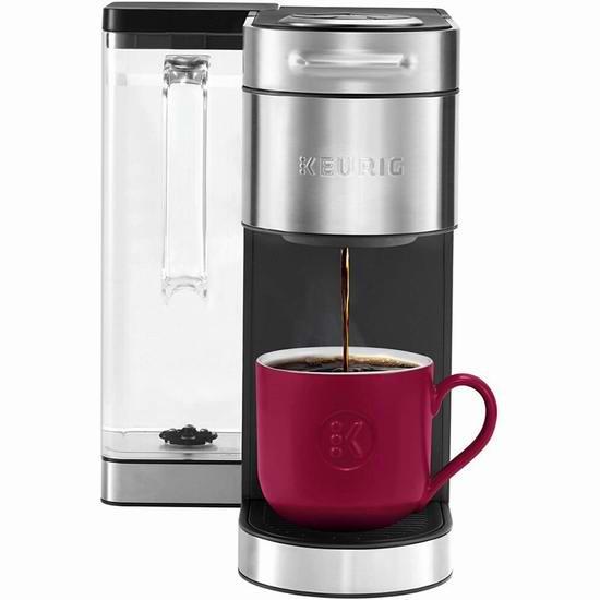 手慢无!历史新低!Keurig K-Supreme Plus 单杯胶囊咖啡机5折 99加元包邮!