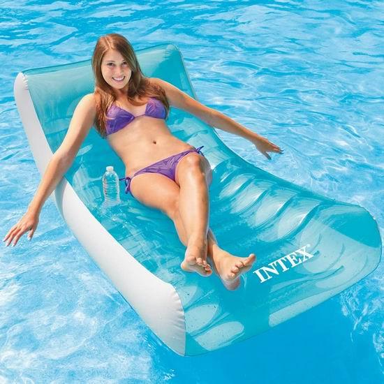 手慢无!Intex Rockin 充气式水上漂浮沙发4.8折 23.83加元!