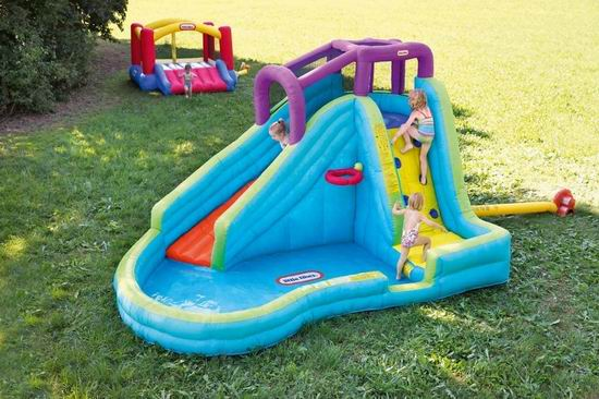 Little Tikes 小泰克 Slam n Curve 充气式 戏水池+攀爬+滑梯 水上乐园 6.6折 344.86加元,原价 519.99加元,包邮