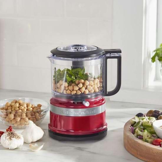 KitchenAid KFC3516 3.5杯食物处理/切碎/料理机 49.99加元包邮!3色可选!