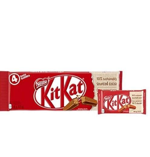KIT KAT 牛奶巧克力威化饼 2.97加元