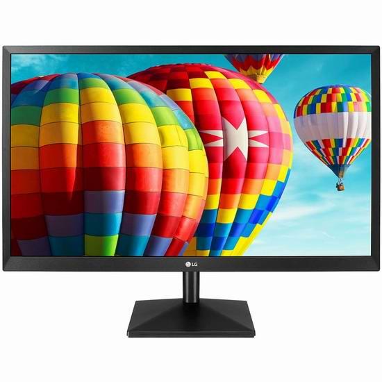 历史新低!LG 27EA430V-B 27英寸 全高清 FreeSync IPS显示器 153加元包邮!