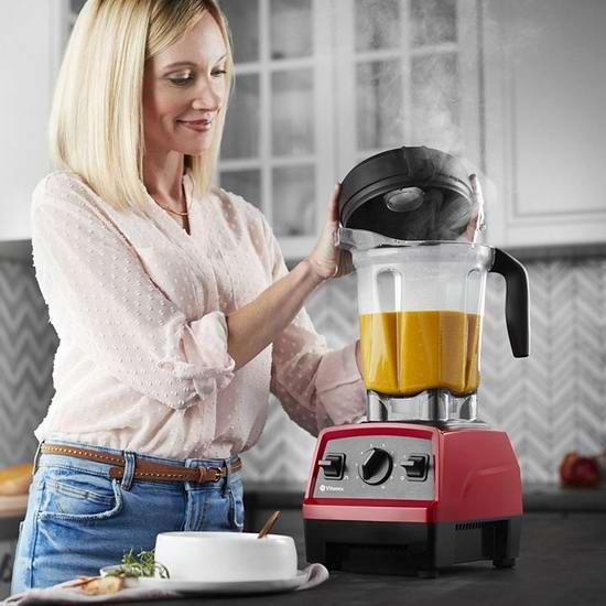 Vitamix 维他美仕 E310 Explorian 多功能全营养 专业破壁料理机/搅拌机 369.98加元(原价 449.95加元),2色可选