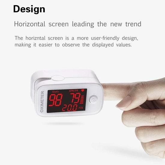 历史新低!Qind Inspire HR 便携夹式血氧饱和度检测仪4.5折 16.2加元包邮!免税!抗疫防缺氧必备!