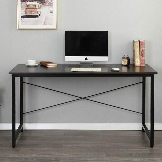 历史新低!SDHYL 55.1英寸 时尚电脑桌/书桌3.9折 49加元限量特卖并包邮!
