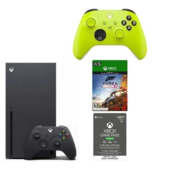 金盒头条:历史新低!Xbox Series X 家庭娱乐游戏机+无线控制器+Game Pass 3个月订阅+《极限竞速 地平线4》 699.99加元包邮!仅限今日!