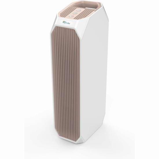 超级白菜!历史新低!Senville SENAP-W36US True HEPA 家用空气净化器2.3折 45.59加元清仓并包邮!