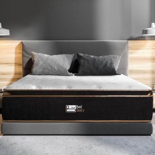 BedStory 12 英寸Queen 记忆海绵床垫 中等硬度 7.2折 361.24加元,原价 499.99加元,包邮