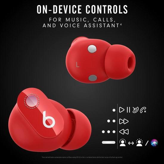 新品上市!Beats Studio Buds 真无线降噪耳机 179.95加元包邮!3色可选!