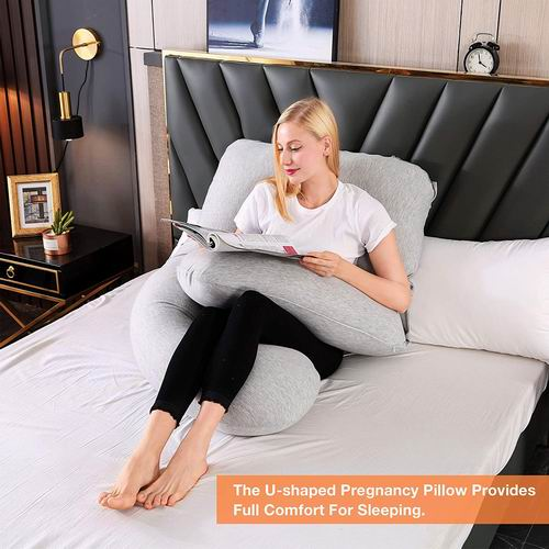 Chilling Home U型身体支撑枕/孕妇身体枕 50.99加元,4色可选