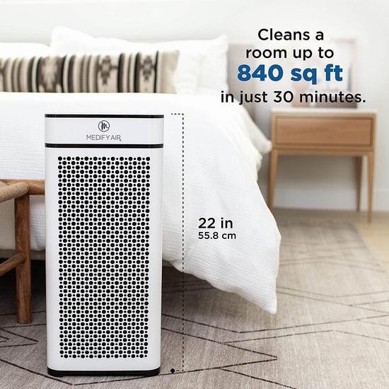 金盒头条:精选多款 Medify Air H13 HEPA 家用/车载 效空气净化器6.5折起!低至95.83加元!