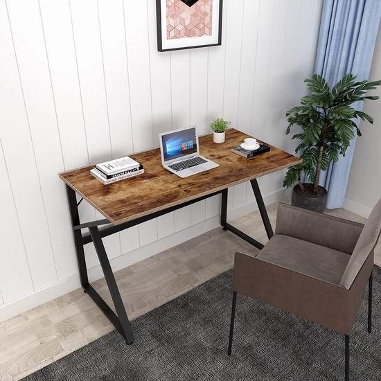 Magic Life 47英寸时尚木纹电脑桌/书桌 59.99加元限量特卖并包邮!