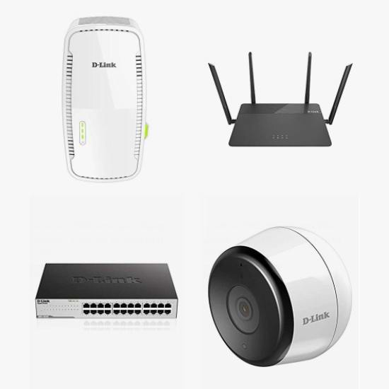 金盒头条:精选多款 D-Link 友讯 无线路由器、WiFi信号延伸器、无线网卡、集线器、室外监控等5折起!