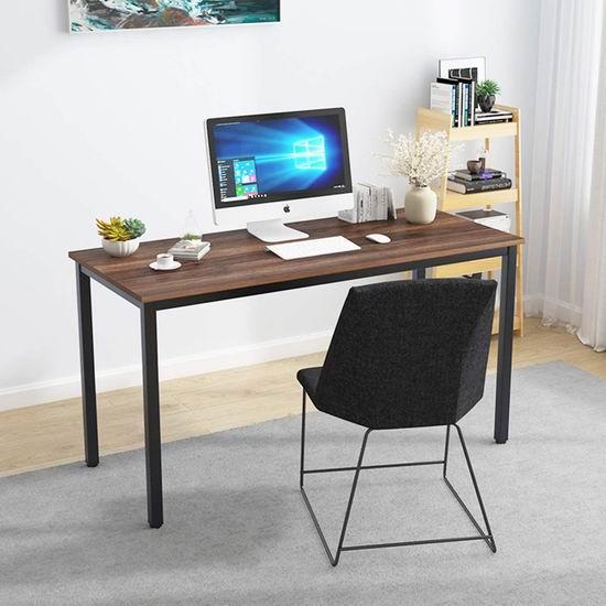 历史新低!SogesPower 55英寸 时尚办公桌/书桌/游戏电脑桌4折 59加元包邮!