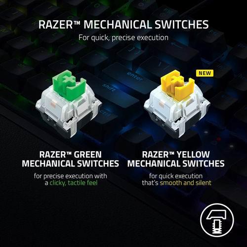 Razer BlackWidow V3 雷蛇黑寡妇蜘蛛游戏机械键盘 120.2加元,原价 165.16加元,包邮