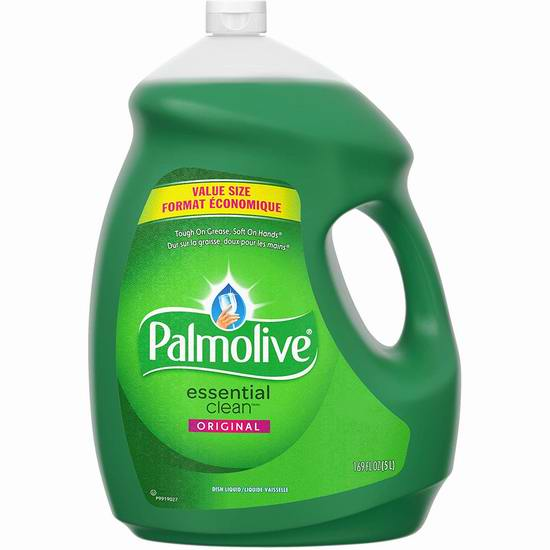 Palmolive Essential 餐具洗洁精5升装 7.56加元,原价 10.49加元