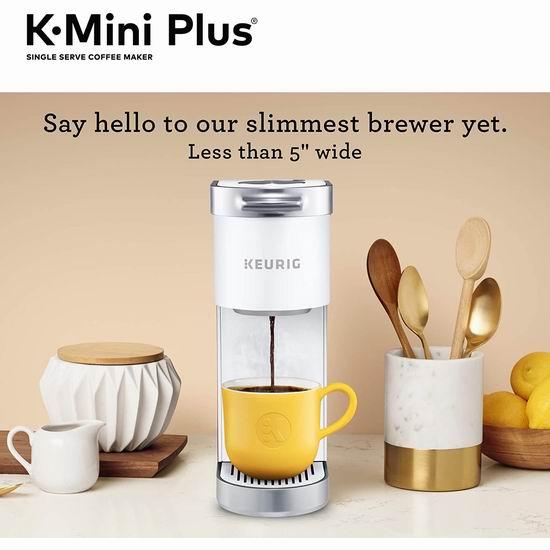 历史新低!Keurig K-Mini Plus 胶囊咖啡机 60加元包邮!