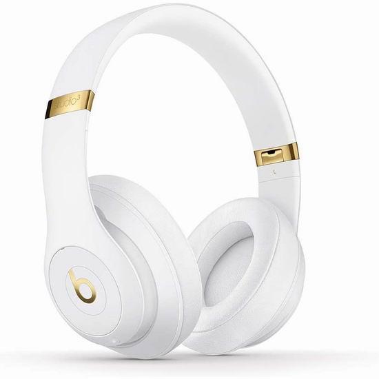 Beats Studio 3 无线头戴式降噪耳机6.2折 249.95加元包邮!2色可选!
