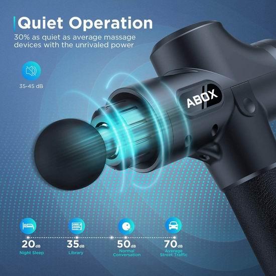 白菜价!历史新低!放松神器 ABOX 升级版 深层肌肉放松 筋膜枪/按摩枪2.7折 43.99加元包邮!会员专享!