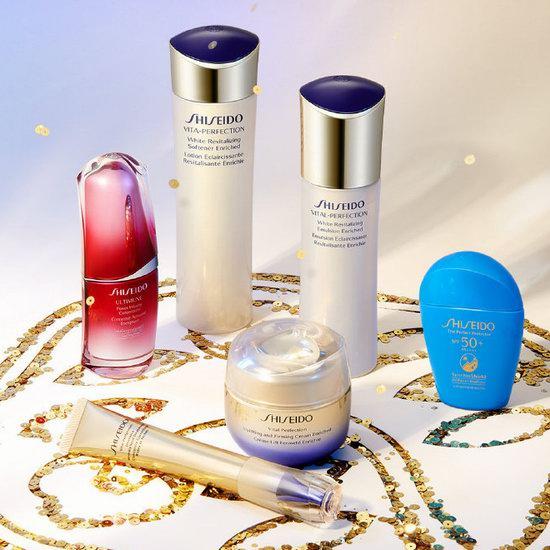 Shiseido 资生堂 全场无门槛9折+满送6件套大礼包+悦薇焕白精华!入时光琉璃抗衰老套装!