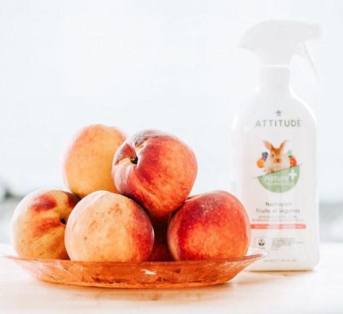 ATTITUDE 纯天然水果蔬菜洗液喷雾(500ml) 3.99加元