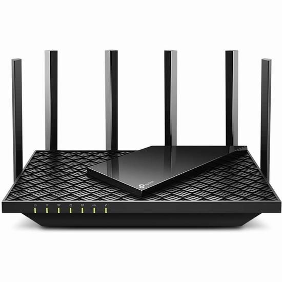 金盒头条:历史新低!TP-Link Archer AX73 AX5400 WiFi 6 无线智能路由器7折 160.99加元包邮!