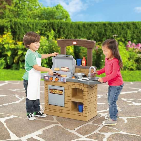 Little Tikes 小泰克 Cook 'n Play 儿童仿真BBQ烧烤炉玩具5折 49.97加元包邮!