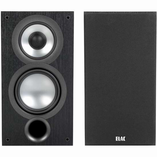 ELAC 德国意力 Uni-Fi 2.0 UB52 三分频 书架式音箱(一对)640.55加元包邮!
